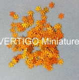 1/72 Chestnut leaves - autumn  200pcs